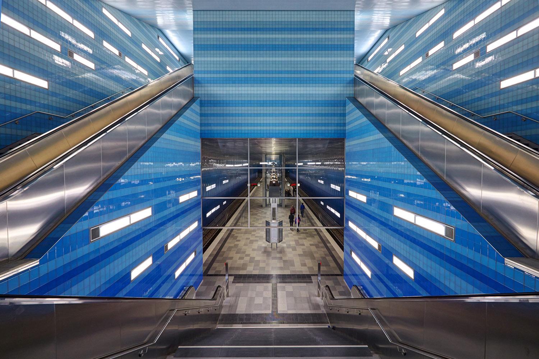 U-Bahnhaltestelle Überseequartier, Hamburg