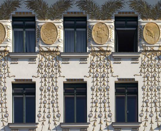 Jugendstilfassade, Wien