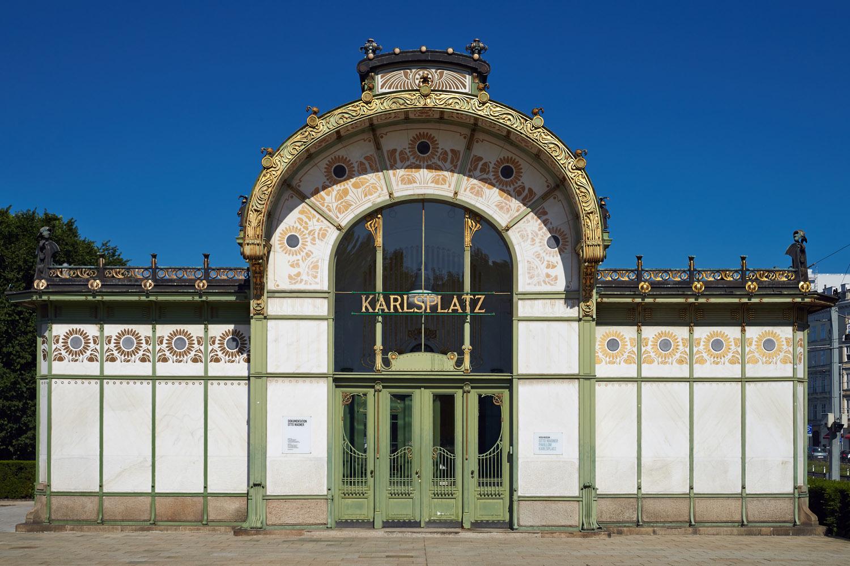 Otto Wagner Pavillon Karlsplatz, Wien