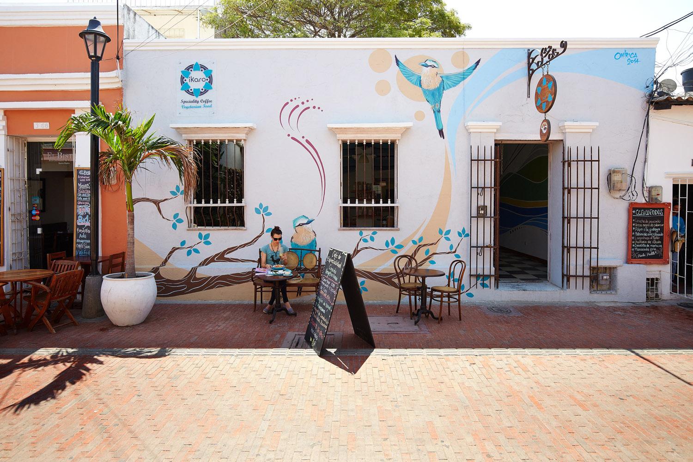 Cafehaus, Santa Marta, Kolumbien
