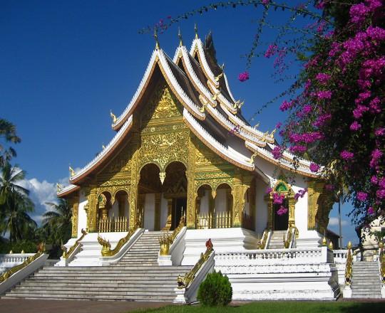 Tempel in Luang Prabang, Laos
