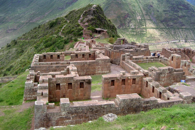 Bergfeste Pisac, Peru